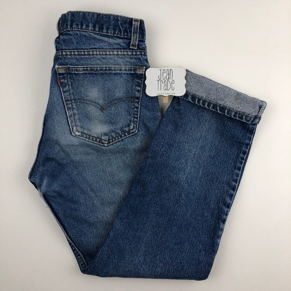 Levi's Denim - Vintage Levi's Distressed Straight Leg Jeans 30x28